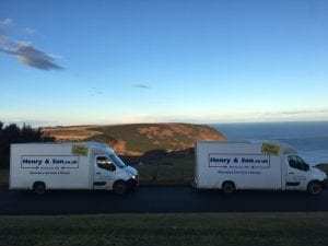 Henry and Son Removals Small vans